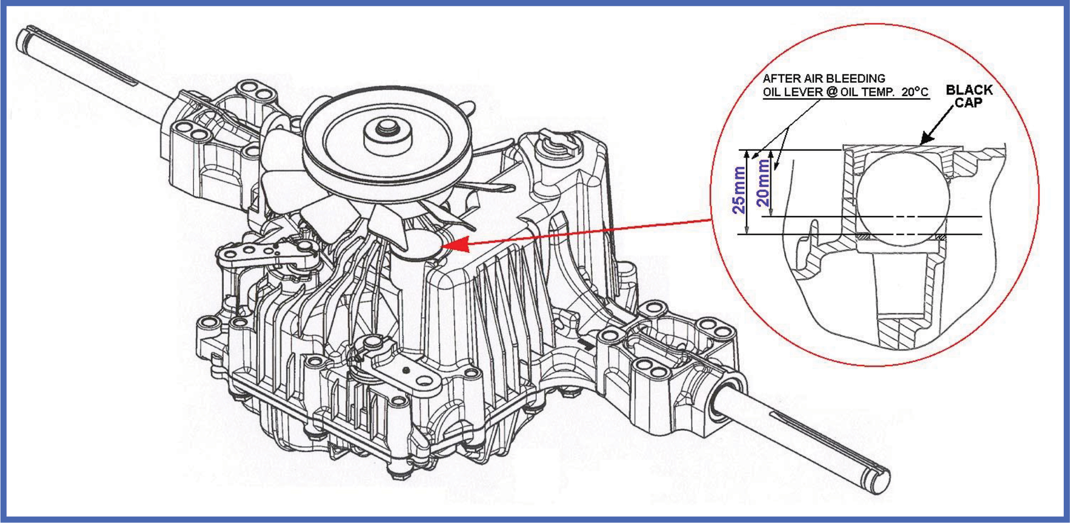 Tech Tips Tuff Torq Oil Service Procedure For Strider K46 Tank Schematic Procecdure Diagram