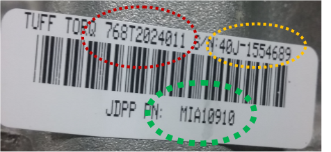 How to Read Your TUFF TORQ® Barcode - Tuff Torq Corporation